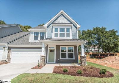 Mauldin Condo/Townhouse For Sale: 403 Overwood #Lot 18