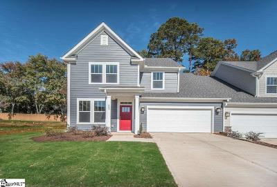 Mauldin Condo/Townhouse For Sale: 409 Overwood #Lot 21