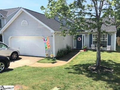 Simpsonville Single Family Home For Sale: 8 Summerfield