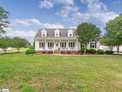 Fountain Inn Single Family Home For Sale: 5 Farmstead