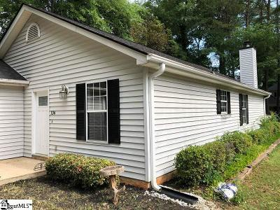 Greenville County Single Family Home For Sale: 136b Duncan Chapel