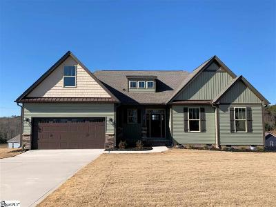 Taylors Single Family Home For Sale: 204 Ryders #Lot 28