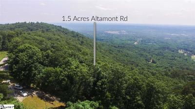 Greenville Residential Lots & Land For Sale: Altamont