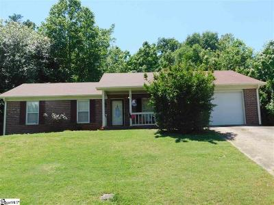 Taylors Single Family Home For Sale: 523 Indian