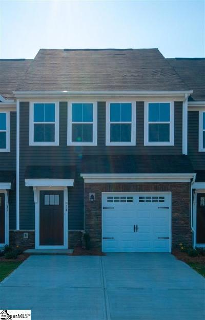 Simpsonville Condo/Townhouse For Sale: 14 Willomere
