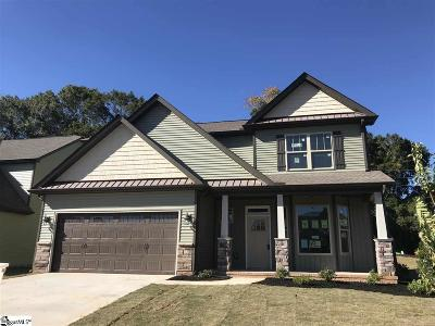Taylors Single Family Home For Sale: 4 Creekland #Lot 1