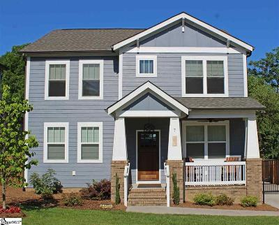 Greenville Single Family Home For Sale: 7 Stratham
