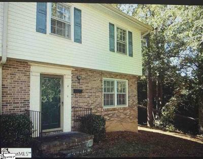Condo/Townhouse For Sale: 1438-H Dover