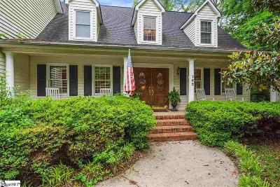 Greenville Single Family Home Contingency Contract: 702 Creekview