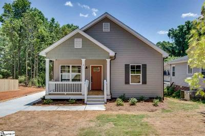 Greenville Single Family Home Contingency Contract: 3 East Decatur