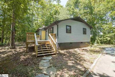 Travelers Rest Single Family Home For Sale: 27 Tigerville