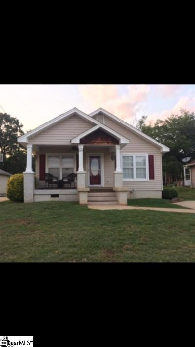 Greer Single Family Home Contingency Contract: 204 Brown