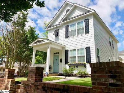 Greenville County Single Family Home For Sale: 510 Green
