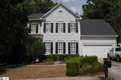 Greenville Single Family Home Contingency Contract: 126 Misty Crest