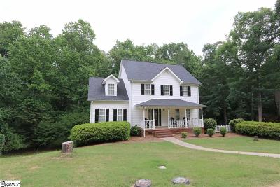 Simpsonville Single Family Home For Sale: 218 Squires Creek