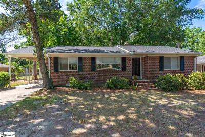 Taylors Single Family Home For Sale: 8 Forestdale