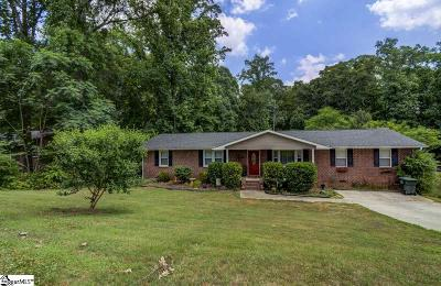 Greer Single Family Home For Sale: 104 Cascade