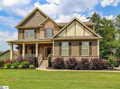 Duncan Single Family Home For Sale: 172 Sapphire Pointe