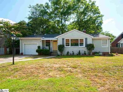 Greenville Single Family Home For Sale: 20 Carolina