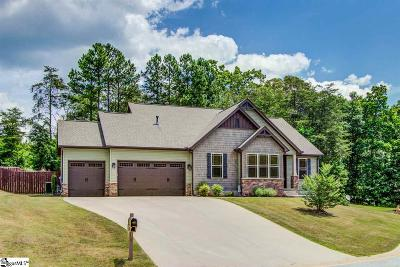 Greer Single Family Home For Sale: 305 Bayswater