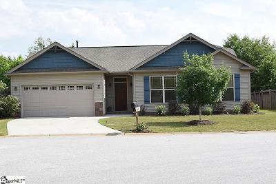 Simpsonville Single Family Home For Sale: 268 Finley Hill