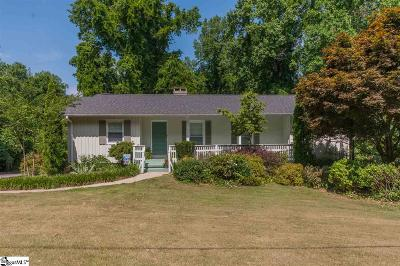 Greer Single Family Home Contingency Contract: 205 Pine Street