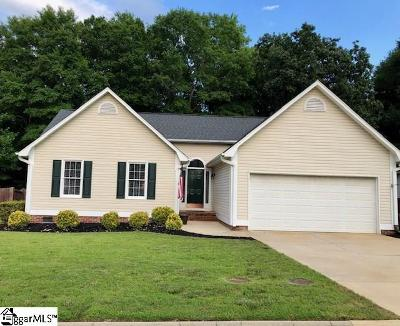 Fountain Inn Single Family Home Contingency Contract: 300 Frostberry