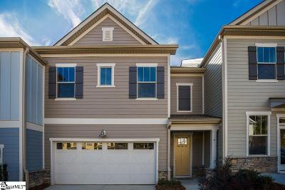 Greer Condo/Townhouse For Sale: 4 Tatum #Homesite