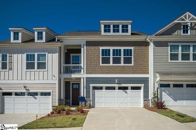 Greer Condo/Townhouse For Sale: 103 Coogan #Homesite