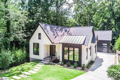 Greenville County Single Family Home For Sale: 116 W Augusta #B