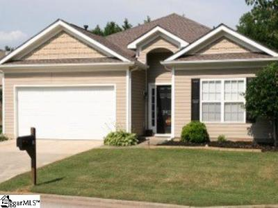 Simpsonville Single Family Home For Sale: 20 Farm Brook