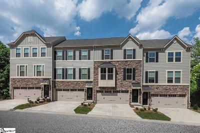 Greenville Condo/Townhouse For Sale: 105 Eagle Wood