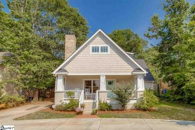 Augusta Road Single Family Home For Sale: 113 Keowee