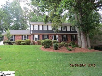 Greer Single Family Home For Sale: 120 Woody Creek