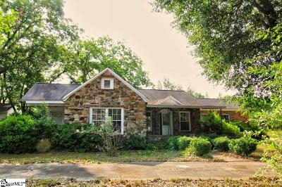 Pelzer Single Family Home For Sale: 9431 Augusta