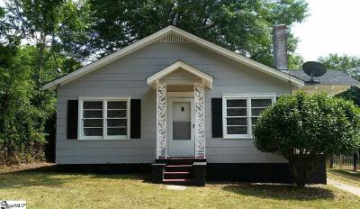 Easley Single Family Home For Sale: 121 W 3rd
