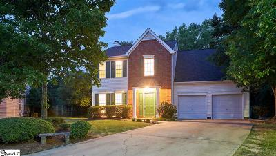 Simpsonville Single Family Home For Sale: 7 Bayview