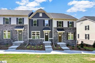 Greenville County Condo/Townhouse For Sale: 10 Itasca #1001E