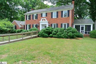Spartanburg Single Family Home For Sale: 1128 Woodburn