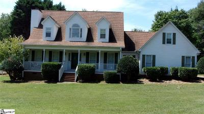 Easley Single Family Home For Sale: 136 Dustin