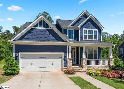 Greenville County Single Family Home Contingency Contract: 536 Palladio