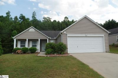 Easley Single Family Home Contingency Contract: 133 Wickersham