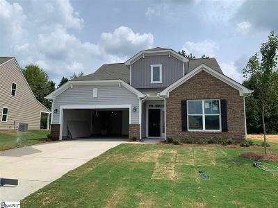 Woodruff Single Family Home For Sale: 819 Wild Orchard #Lot 28