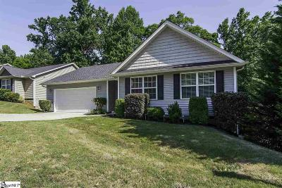 Greer Single Family Home Contingency Contract: 123 Valley Glen