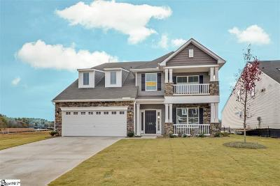 Woodruff Single Family Home For Sale: 816 Wild Orchard #Lot 94
