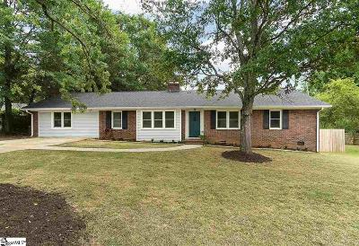 Greenville Single Family Home For Sale: 122 Holgate