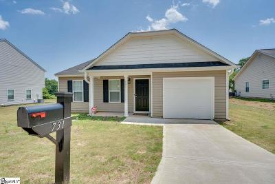 Duncan Single Family Home For Sale: 731 Cannonsburg