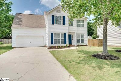 Simpsonville Single Family Home Contingency Contract: 20 Summerlin