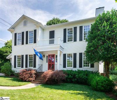 Greenville Single Family Home For Sale: 301 Aberdeen