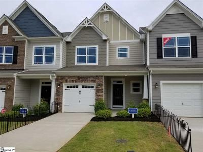 Greenville County Condo/Townhouse For Sale: 605 Daisy Hil #lot 120